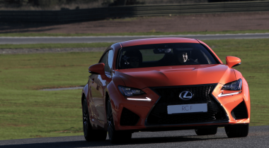 Lexus RC F Launch